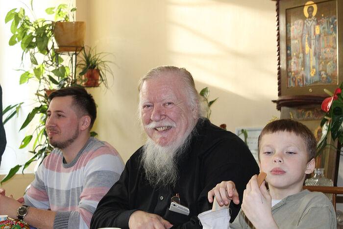 Отец Димитрий Смирнов. В приюте «Павлин»