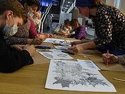 Москвичей бесплатно научат рисовать в рамках проекта «Арт-субботы»