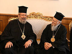 Abp. of Cyprus to Pat. Bartholomew: Russian Church has no right to complain about interference in Ukraine
