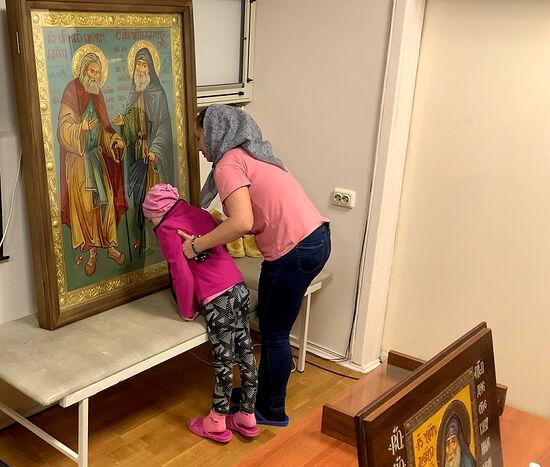 В детском онкоцентре в Москве