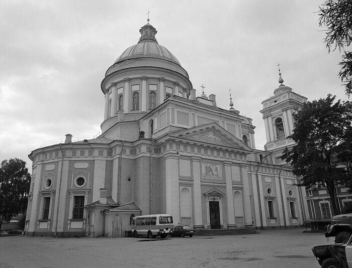 St. Alexander Nevsky Lavra. Holy Trinity Cathedral. Photo by Paul Haag, 1996