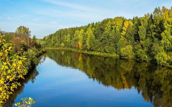 Осень на реке Кильмезь