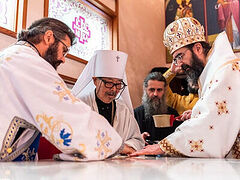 Japanese and Romanian hierarchs concelebrate consecration of Romanian church in Tokyo