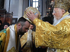 Constantinople consecrates exarch bishop to serve on territory of Ukrainian Orthodox Church