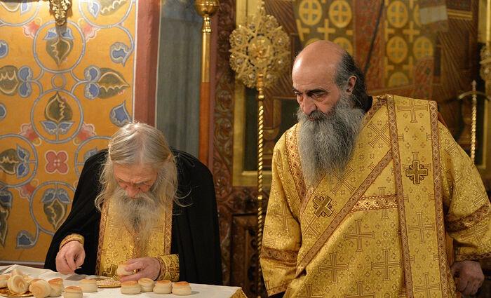 Старец Илий и отец Илиодор