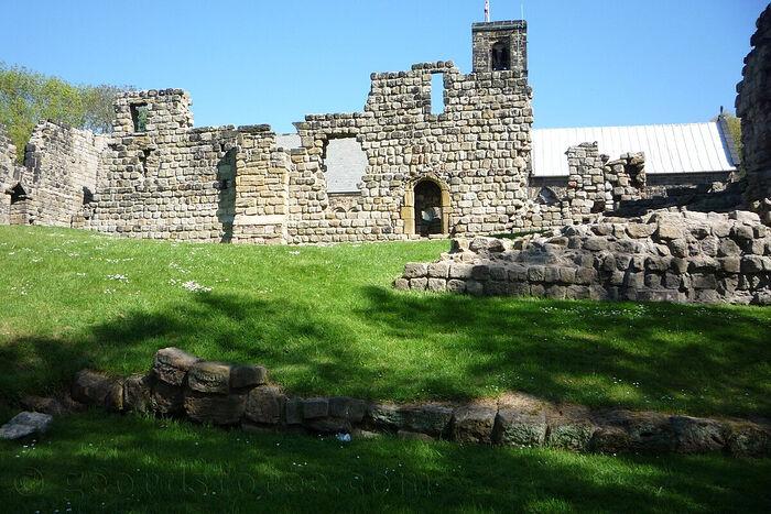 Монастырь Св. Беды в Ярроу в наши дни