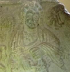 Энгус I. Иллюстрация на королевском саркофаге в Сент-Эндрюсе