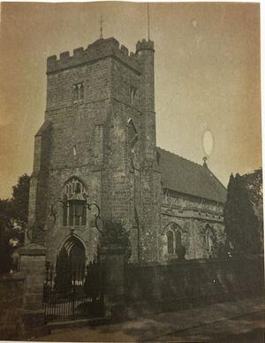 Место погребения Филиппа Ладвелла III. Открытка 1943 г.