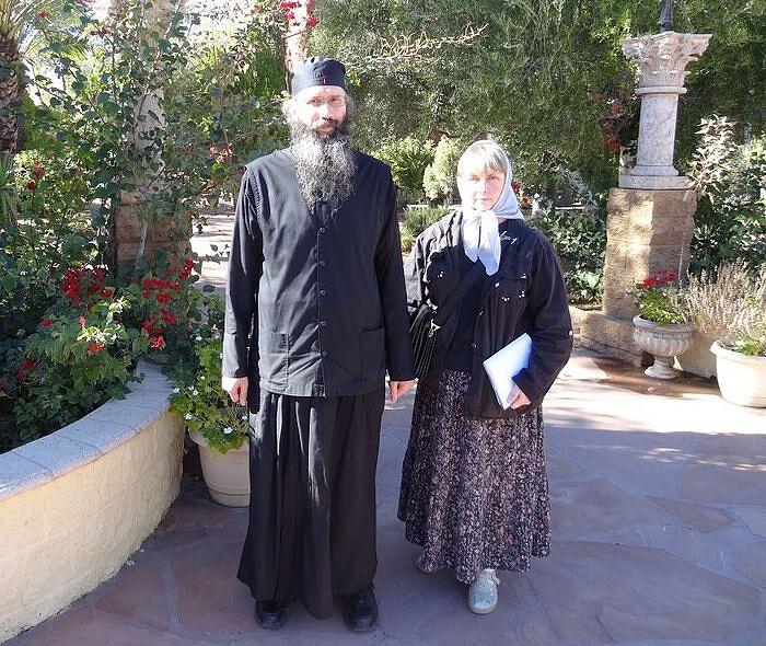 С отцом Серафимом в монастыре в Аризоне