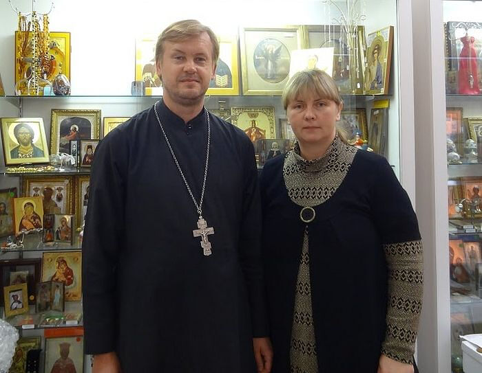 С отцом Валерием Шемчуком