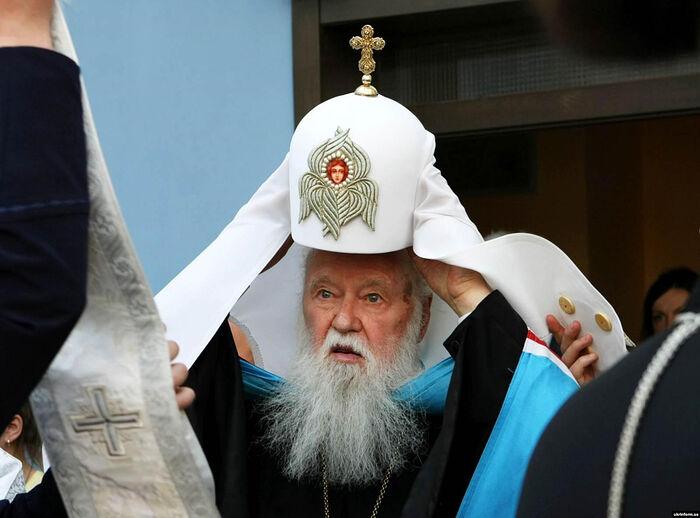 Leader of the Ukrainian schismatics, the former Metropolitan Philaret Denisenko