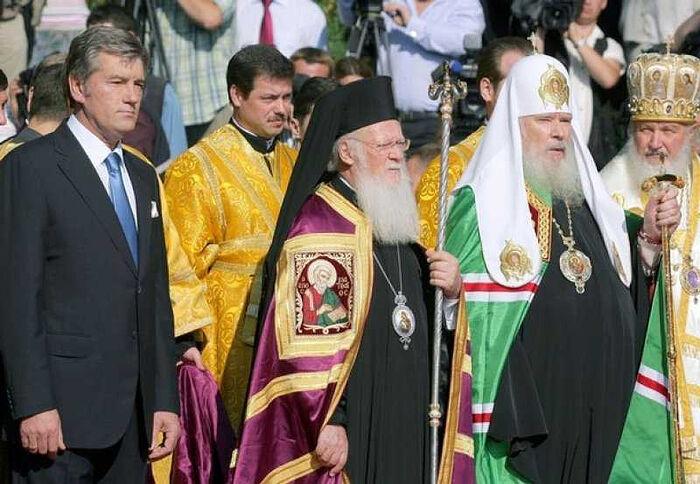 Молебен на Владимирской горке, 27 июля 2008 г.