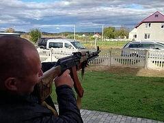 Schismatics take aim at priest's house in Ukrainian village