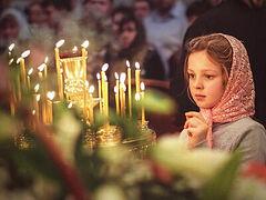 Дети на литургии: как привести детей в храм, просто привести
