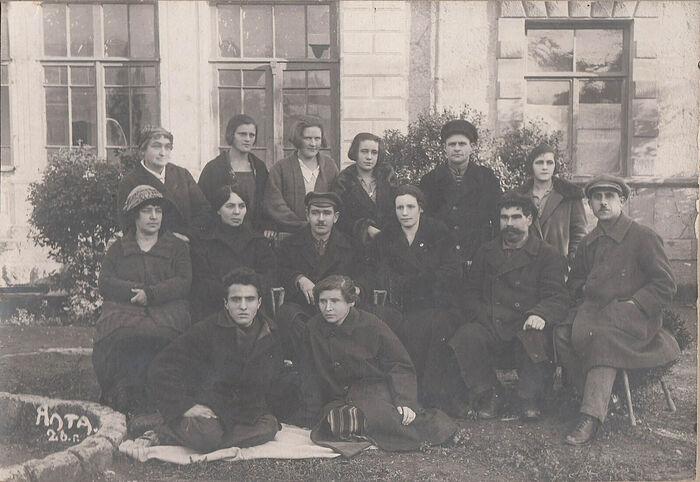Сотрудники ялтинского детского дома