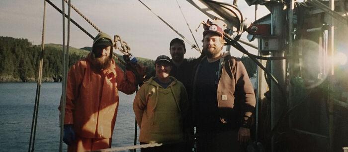 На заработках на Аляске. 2000 г.