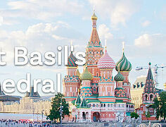 VIDEO: Architectural Landmark of Moscow: St. Basil's Cathedral