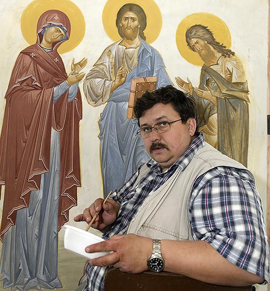 Anatoly Alyoshin, the iconographer