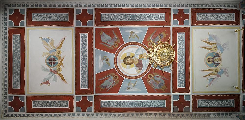 Αγιογραφία στην οροφή