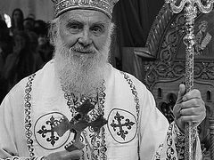 Patriarch Irinej of Serbia reposes in the Lord