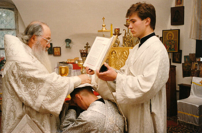 Иподиаконство у митрополита Ювеналия