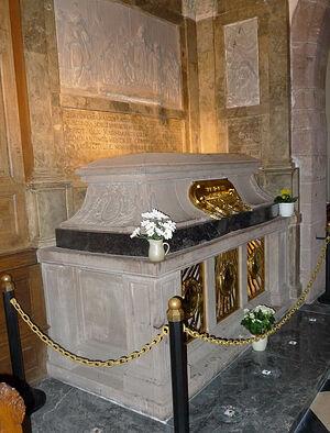 Рака с мощами святой Одилии. Монастырь святой Одилии (Франция)