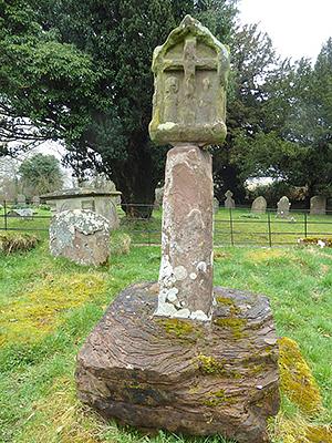 Древний крест в Хентленде, Херефордшир