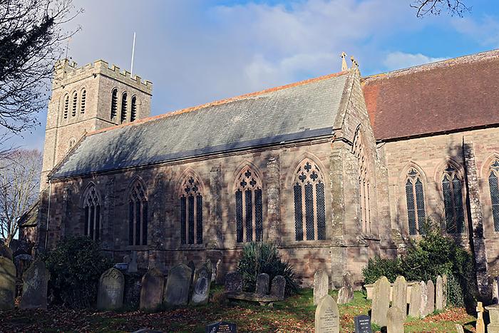 Церковь Рождества Пресвятой Богородицы в Мэдли, Херефордшир (источник: Uksouthwest.net)