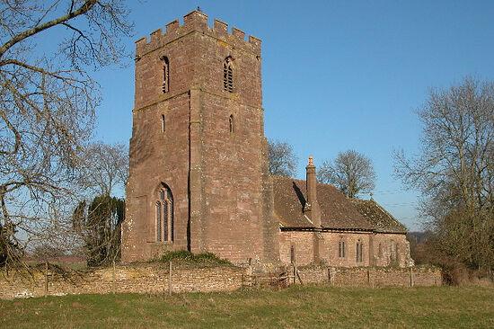 Церковь св. Дубрикия в Хентленде, Херефордшир