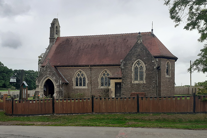 Церковь св. Дубрикия и Всех святых в Хэмниш-Клиффорде, Херефордшир (фото любезно предоставлено Revd. Rufus Noy)