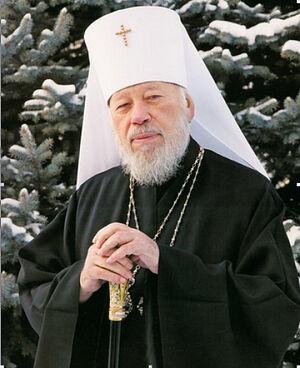 Ο Μακαριώτατος Μητροπολίτης Βλαδίμηρος (Σαμποντάν, † 2014) επικεφαλής της Ουκρανικής Ορθόδοξης Εκκλησίας από το 1992 έως το 2014.