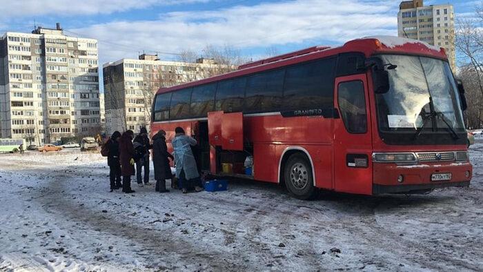 «Автобус милосердия» в Уфе