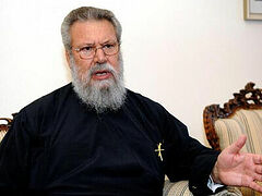 Archbishop of Cyprus threatens stalwart bishops with defrocking, possible excommunication