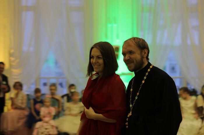 Чета Ледовских. Отец Димитрий и его супруга Людмила