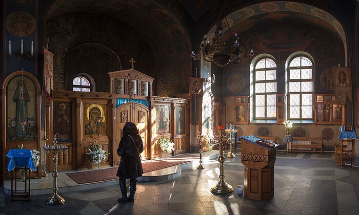 The Church of St. Mitrophan of Voronezh, Moscow.