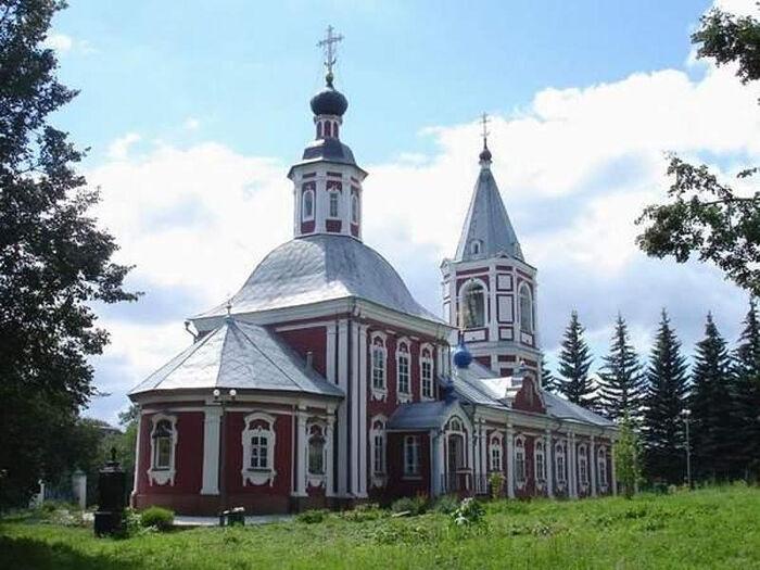 St. Elias Church in Sergiev Posad.