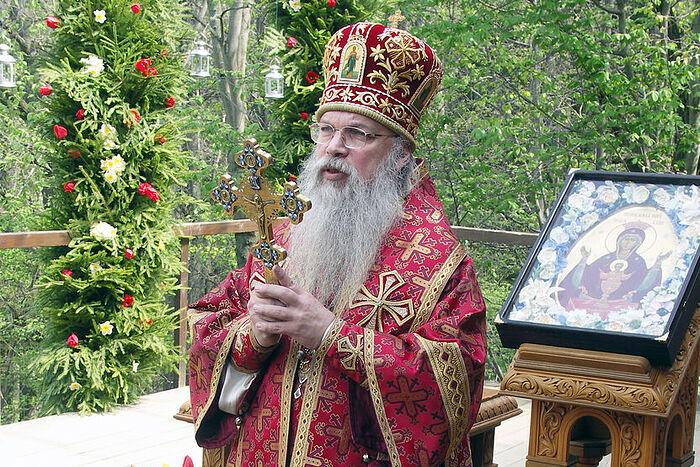 Владыка Алексий (Фролов). Престольный праздник в Дураково