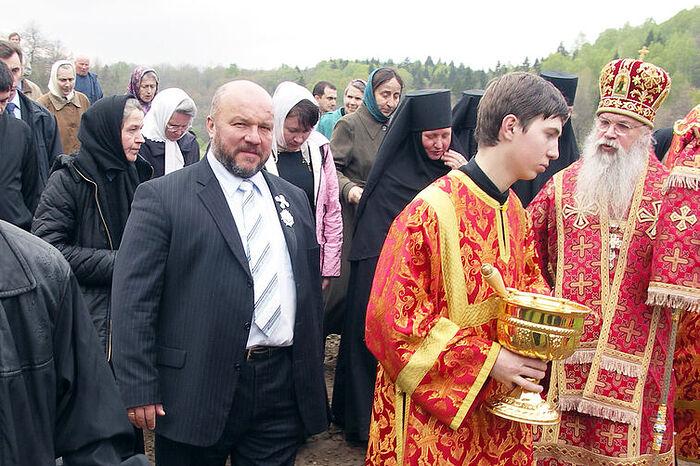 Владыка Алексий (Фролов), Михаил Федорович Морозов. Крестный ход на престольный праздник в Дураково