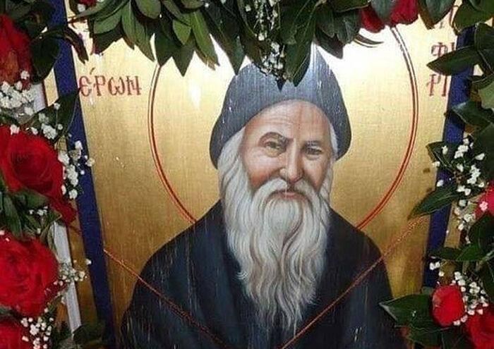 Преподобный Порфирий Кавсокаливит и компания с шашлыками
