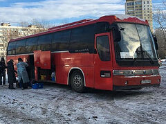Russian Church launches 14th Mercy Bus to help the homeless