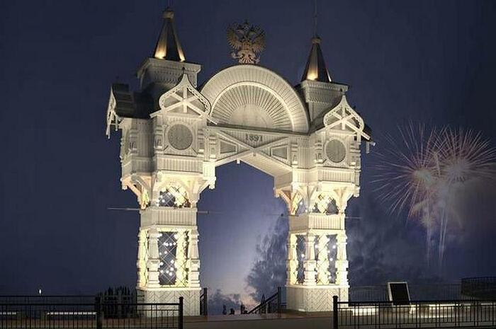 Хабаровск может украсить Триумфальная арка