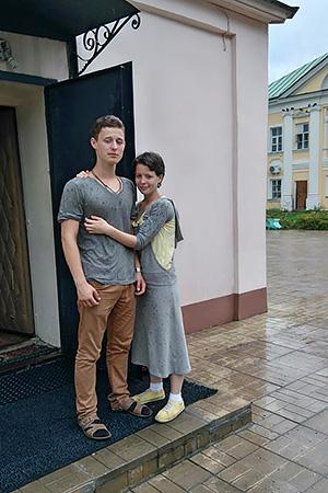 Коля и Маша Шевчуки