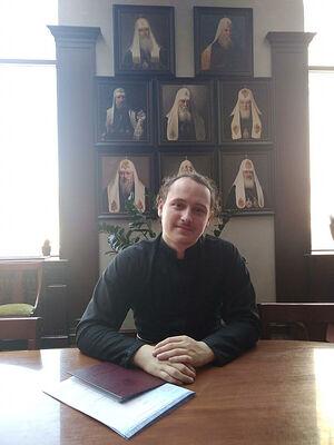 Послушник Сретенской обители Иоанн Шевчук
