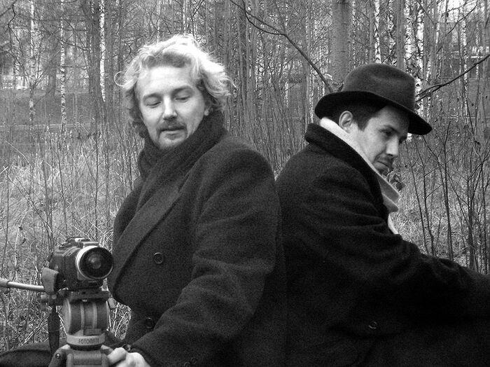 Андрей Аксеновский (слева)