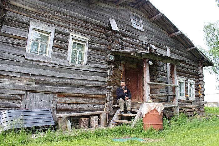 Валерий Подоров в Аранце живет в доме своих предков