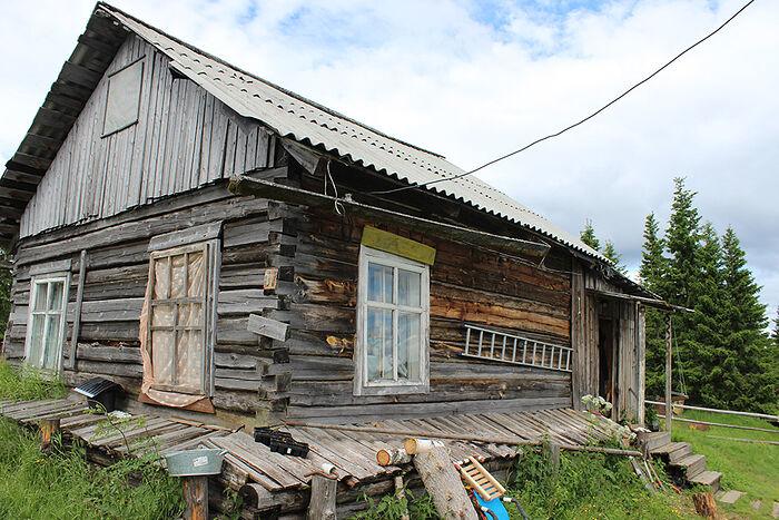 Дом, который Аксеновские снимают в Аранце