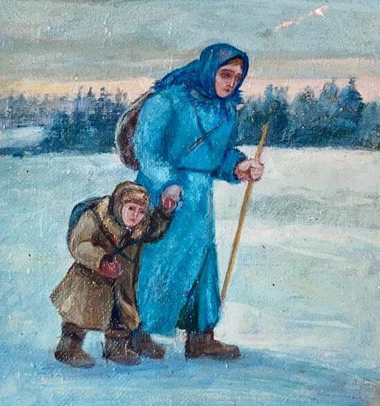 Одна из работ Искры (Александры) Андреевны Бочковой