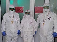 Коридор в «красную» зону: священники в регионах идут к больным коронавирусом. Информационная сводка от 8 декабря 2020 года