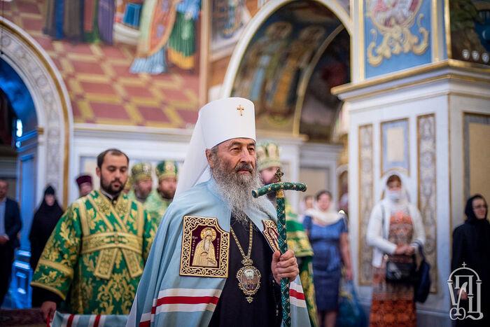Патриарх Кирилл поздравил Предстоятеля Украинской Православной Церкви с 30-летием архиерейской хиротонии
