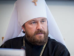 "Idea that Pat. Bartholomew only ""tolerates"" Ukrainian hierarchs is ""absurd and insane""—Met. Hilarion (Alfeyev)"